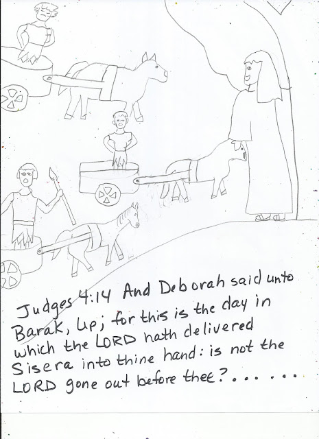 deborah bible coloring pages - photo#27