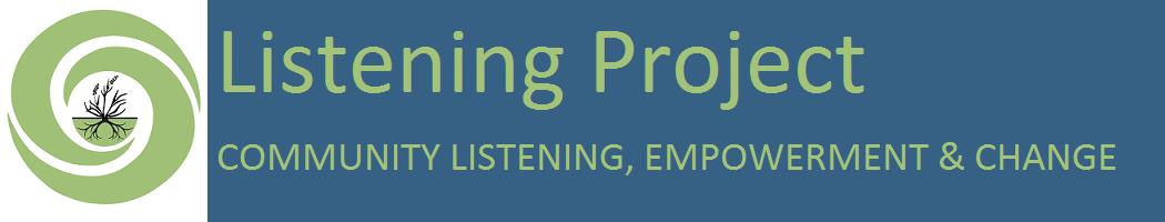 Listening Project Blog