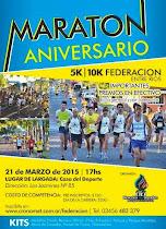 Maraton aniv. Federacion (E.R)