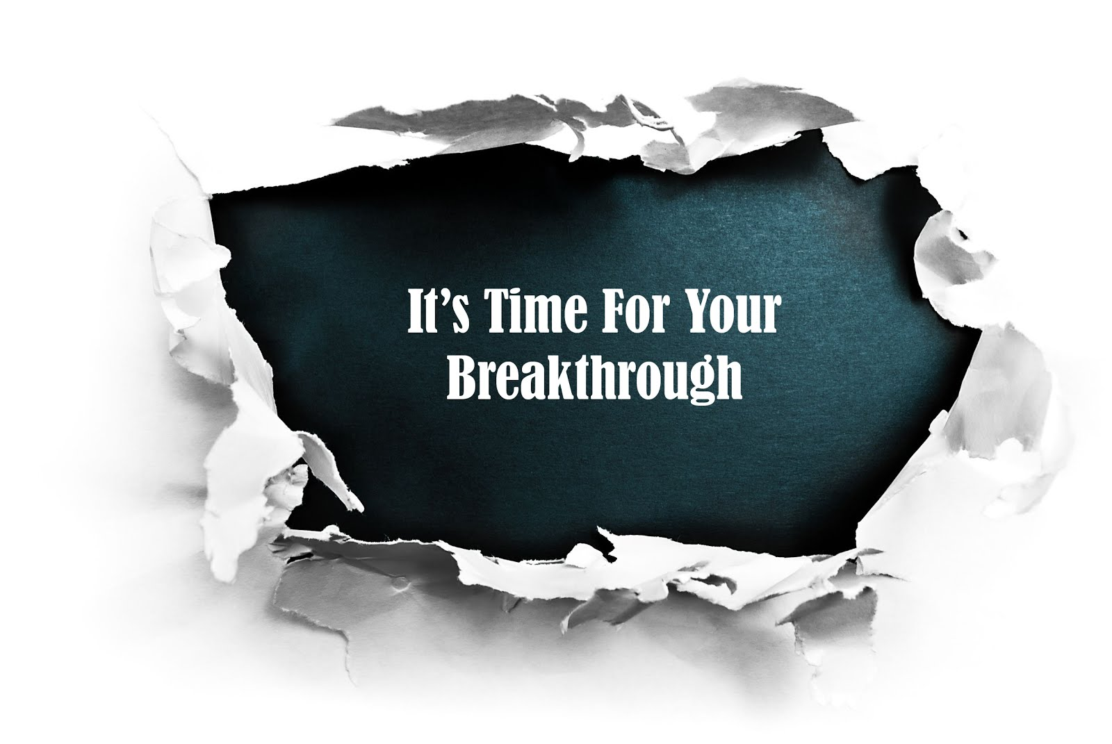 Start Breaking Through