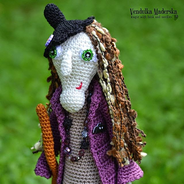 Crochet witch