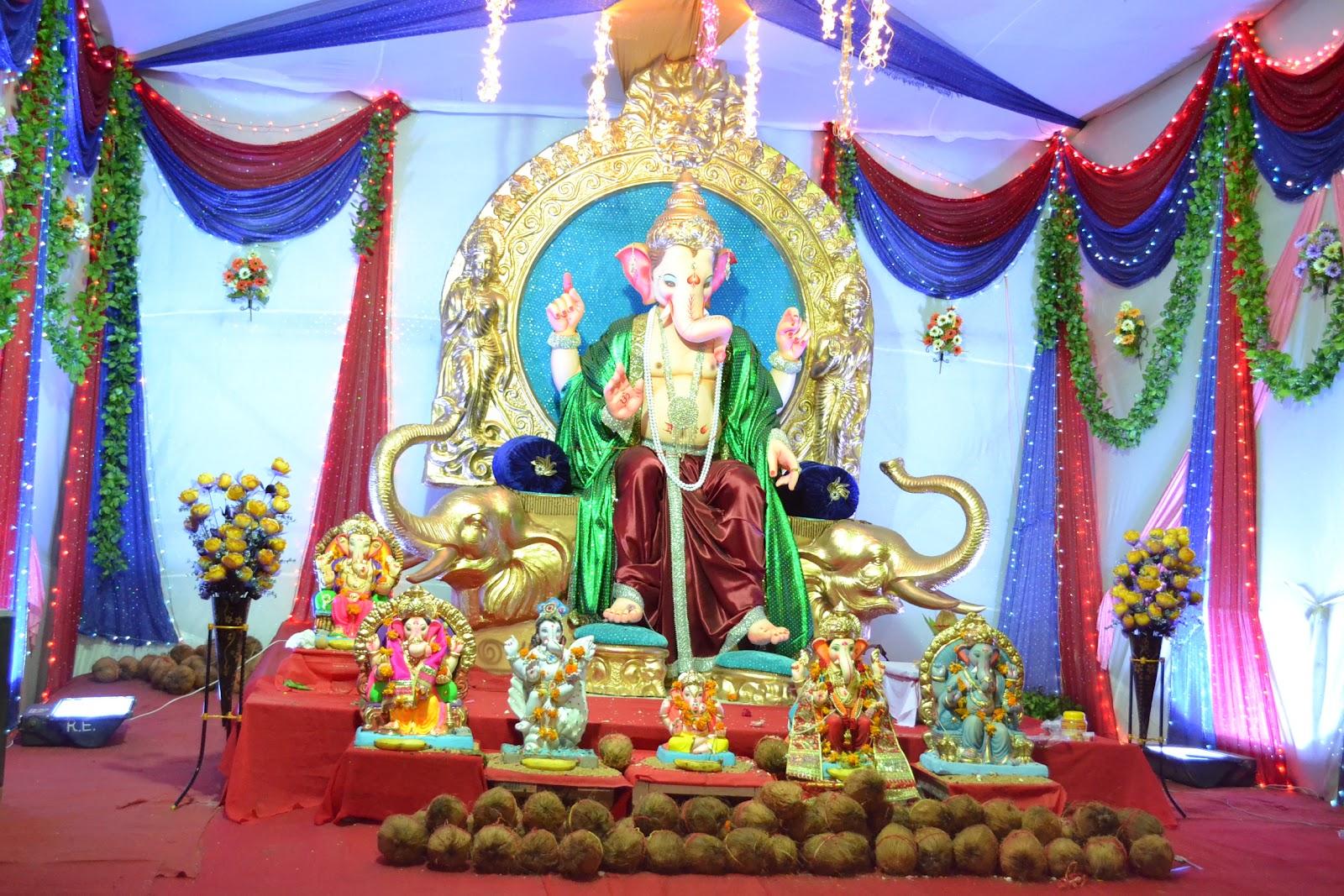Home Decoration For Ganesh Festival