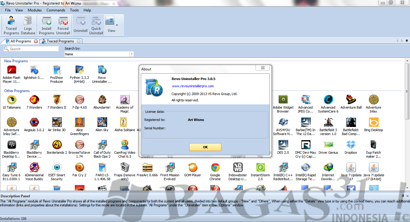 Revo Uninstaller Pro 3.0.5.0 Full Patch 2