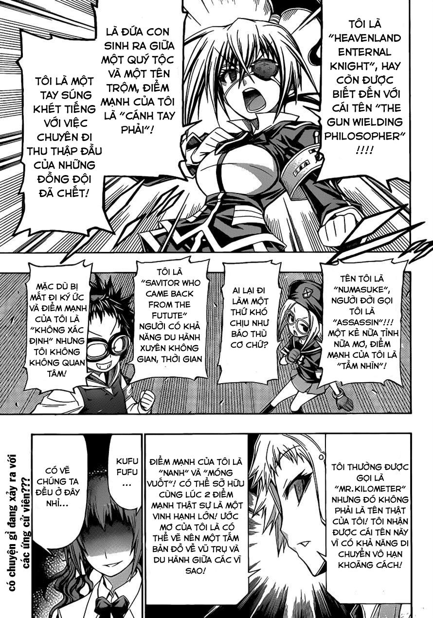 Medaka Box chap 137 - Trang 3