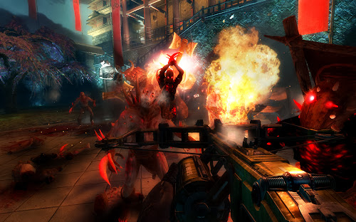 Screen Shot Of Shadow Warrior Special Edition (2013) Full PC Game Free Download At Downloadingzoo.Com