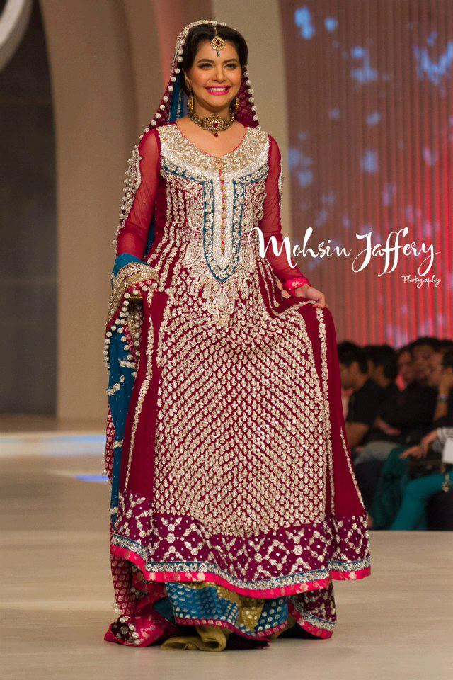 Nida Yasir Family http://www.styleinstep.com/2013/04/nida-yasir-on-ramp-at-bridal-couture.html