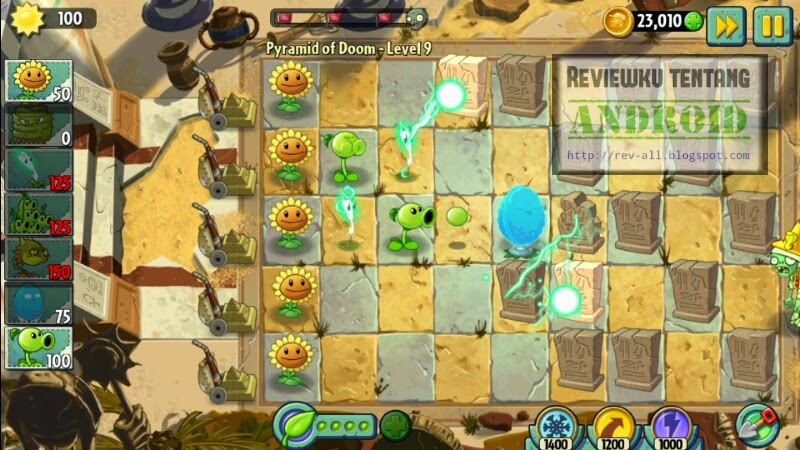 Mulai bermain Permainan Plants VS Zombies 2  - download apk dan data obb gratis game android PvZ 2 (rev-all.blogspot.com)