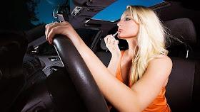 Lady Driver Teruk Sangat Ke