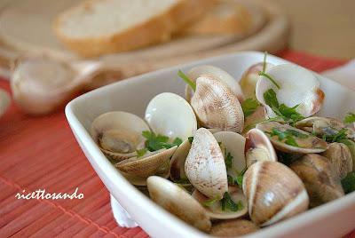 Sautè di vongole ricetta base di pesce ottimo antipasto