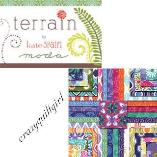 Moda TERRAIN Quilt Fabric by Kate Spain