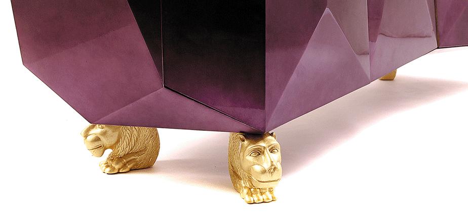 эксклюзив тумба гостиная золото дизайн гламур