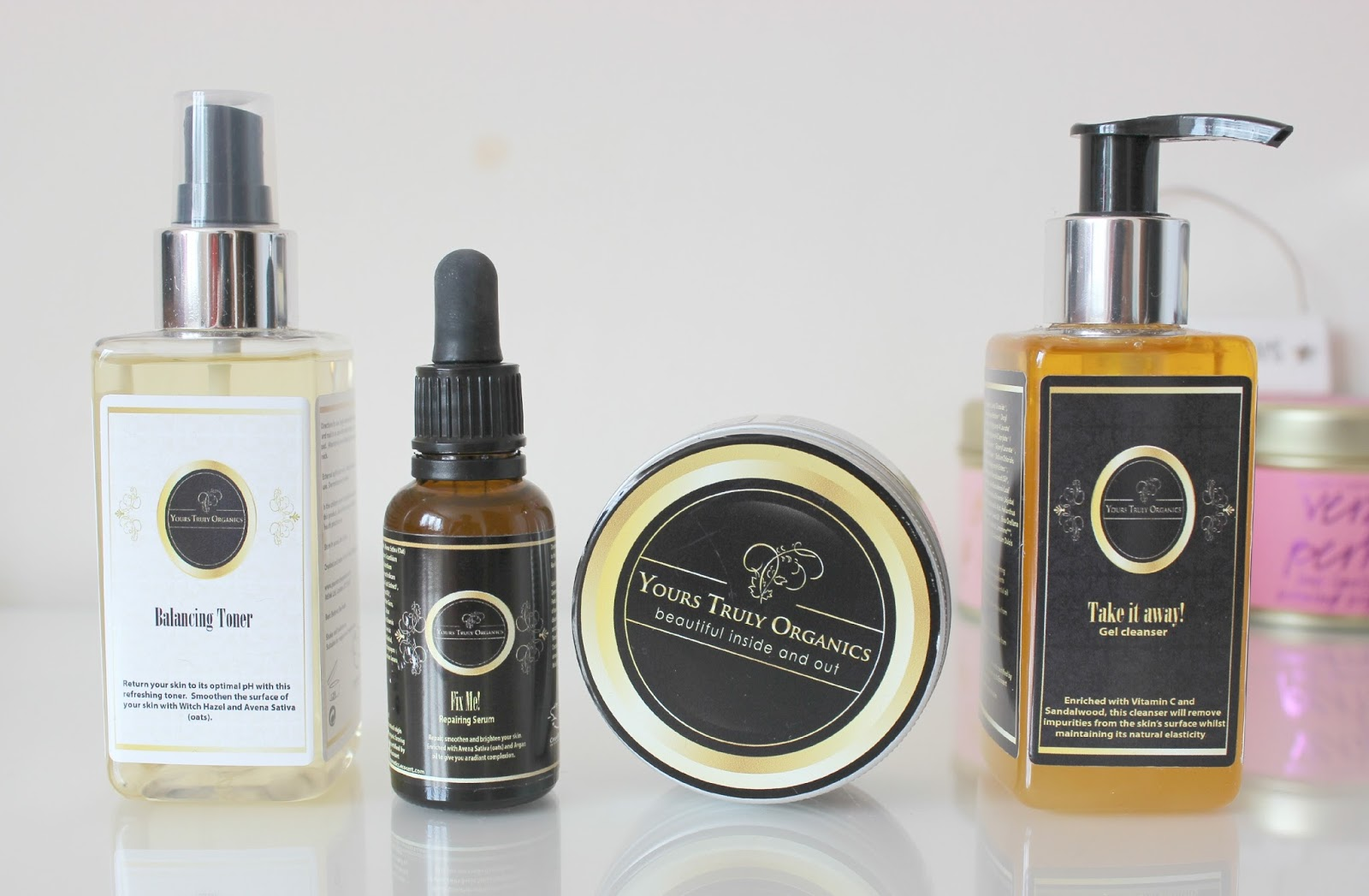 A picture of Yours Truly Organics Skincare
