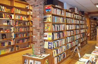Inside the Crow Bookshop
