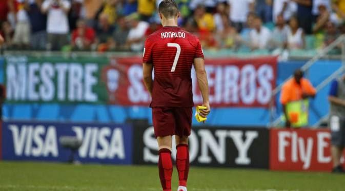 Kapten Portugal, Cristiano Ronaldo