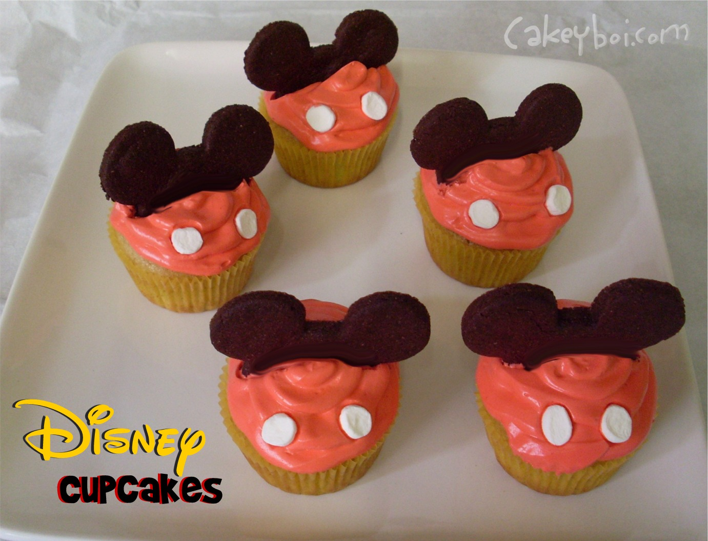 Pictures Of Mickey Mouse Cupcakes : Cakeyboi: Disney Cupcakes