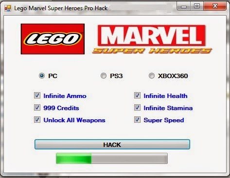 LEGO Marvel Superheroes Cheats Hack Tool - Android Hackings