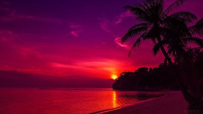Baixe grátis papel de parede da natureza Pôr-do-sol Tailândia em hd 1080p.
