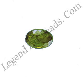 Green grossular. Below: Andradite garnet