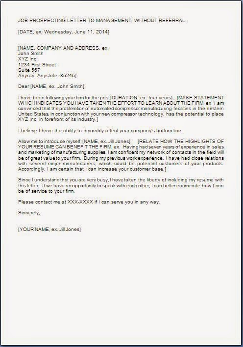Job Application Letter Format In Doc