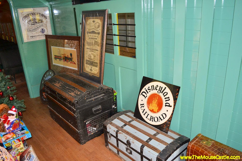Santa Fe & Disneyland Railroad Combine Car Baggage