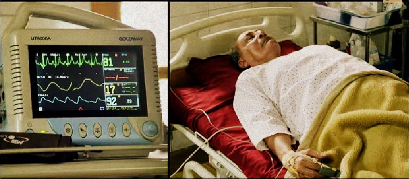 Babuji of Crazy Cukkad Family lying on death bed in serious condition
