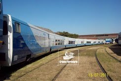 CRNICA FERROVIARIA VISITA EL MATERIAL FERROVIARIO ESPAOL EN REMEDIOS DE ESCALADA