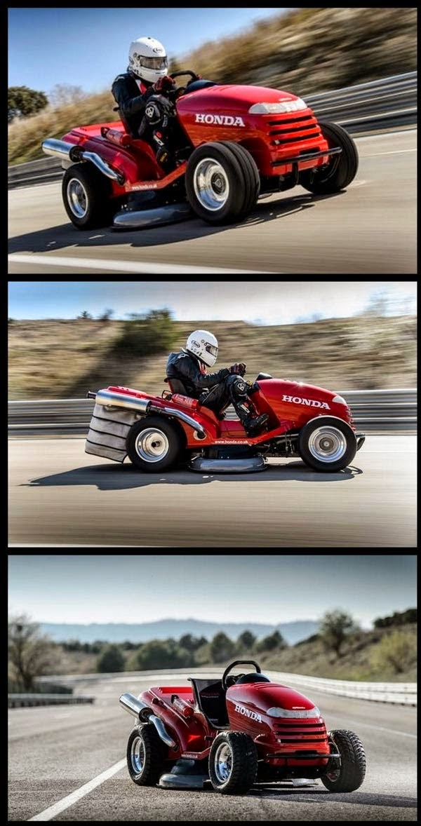 The WORLD S FASTEST LAWN MOWER 13 photos