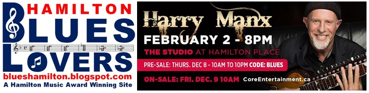 Harry Manx in Hamilton February 2, 2017!