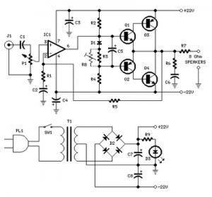 Rangkaian Power Amplifier