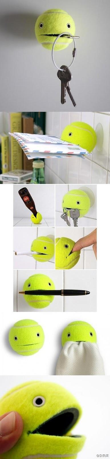 reciclar pelota de tenis