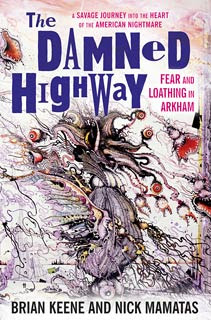 The Damned Highway: Fear and Loathing in Arkham, 2011, copertina