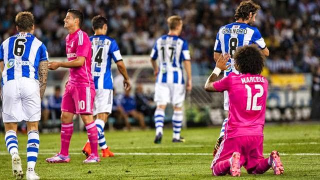 ريال سوسيداد يفوز على ريال مدريد