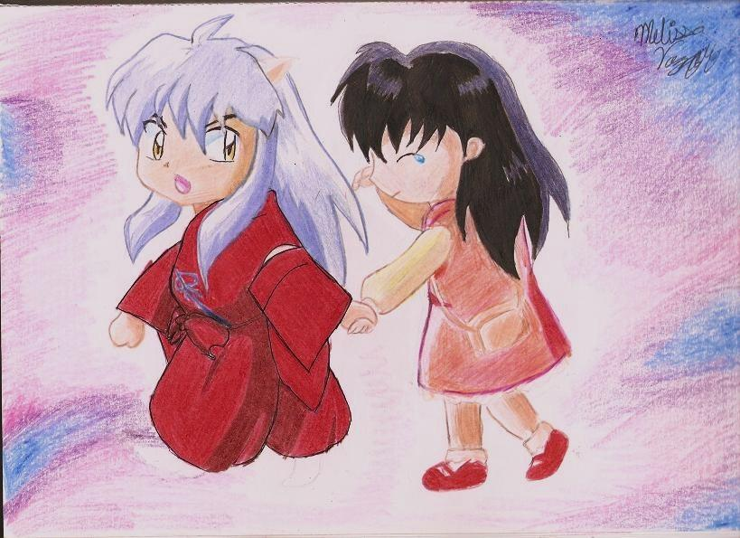 Inuyasha and Kagome Doing It http://kagomeandinuyashailoveyou.blogspot.com/2011/10/blog-post.html