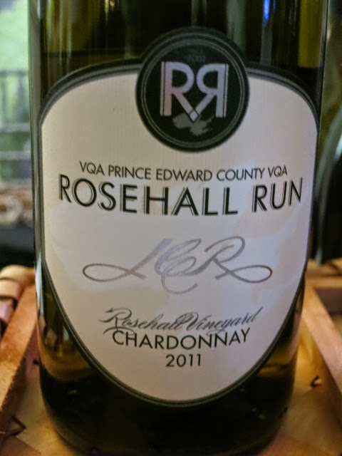 Wine Review of 2011 Rosehall Run JCR Chardonnay from VQA Prince Edward County, Ontario, Canada