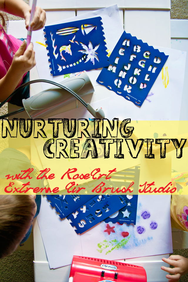 Nurturing Creativity with the #RoseArt Extreme Air Brush Studio
