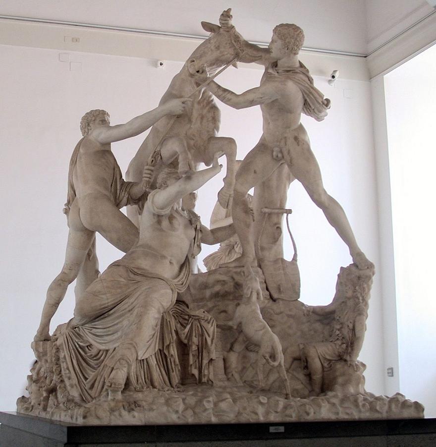 Date un paseo por la escultura griega