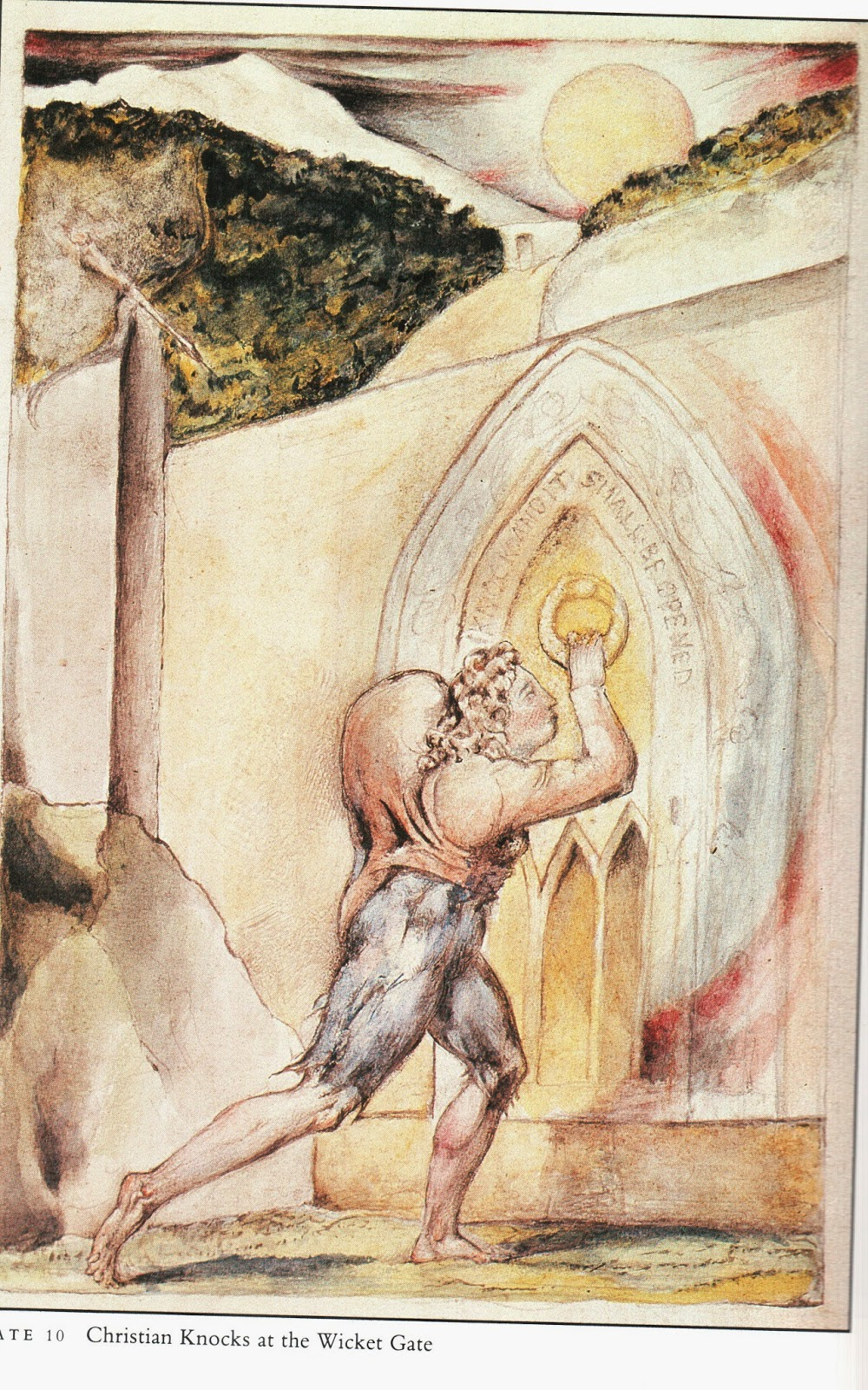 christianity in william blakes works Frontline 6 the revolutionary mysticism of william blake in the second in our series of articles on art and artists, kenny mcewan looks at the work of poet and painter william blake (1757-1827.