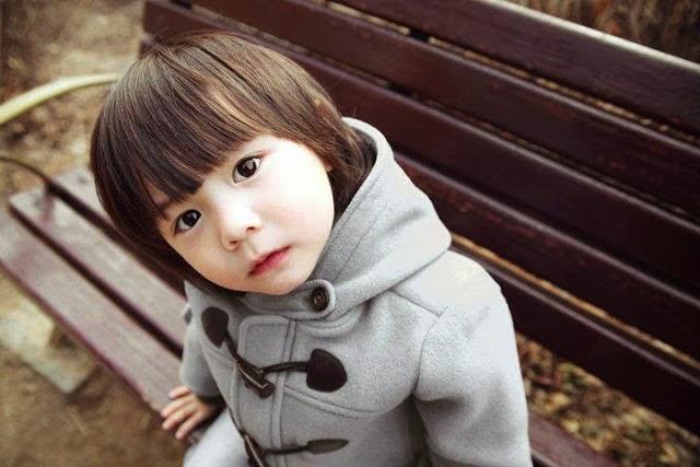 Gambar anak kecil cantik dan lucu asal korea