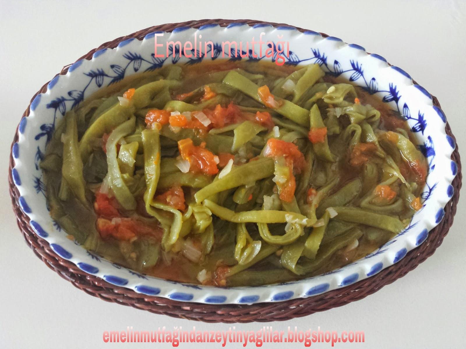 Zeytinyağlı Taze Fasulye (Çiğden)