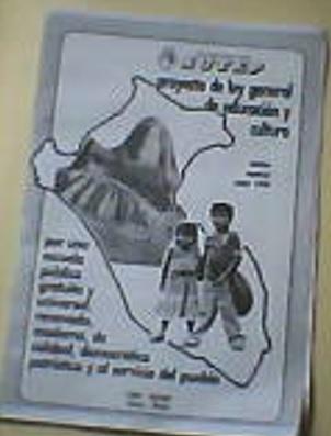 Proyecto de Ley General de Educación y Cultura (Propuesta del SUTEP)