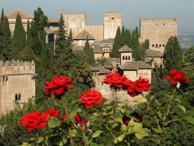 """روووعة """"قصر الحمراء""""  بأسبانيا"""