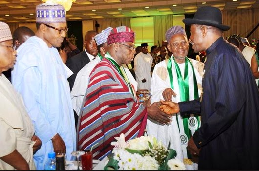 buhari jail jonathan corruption