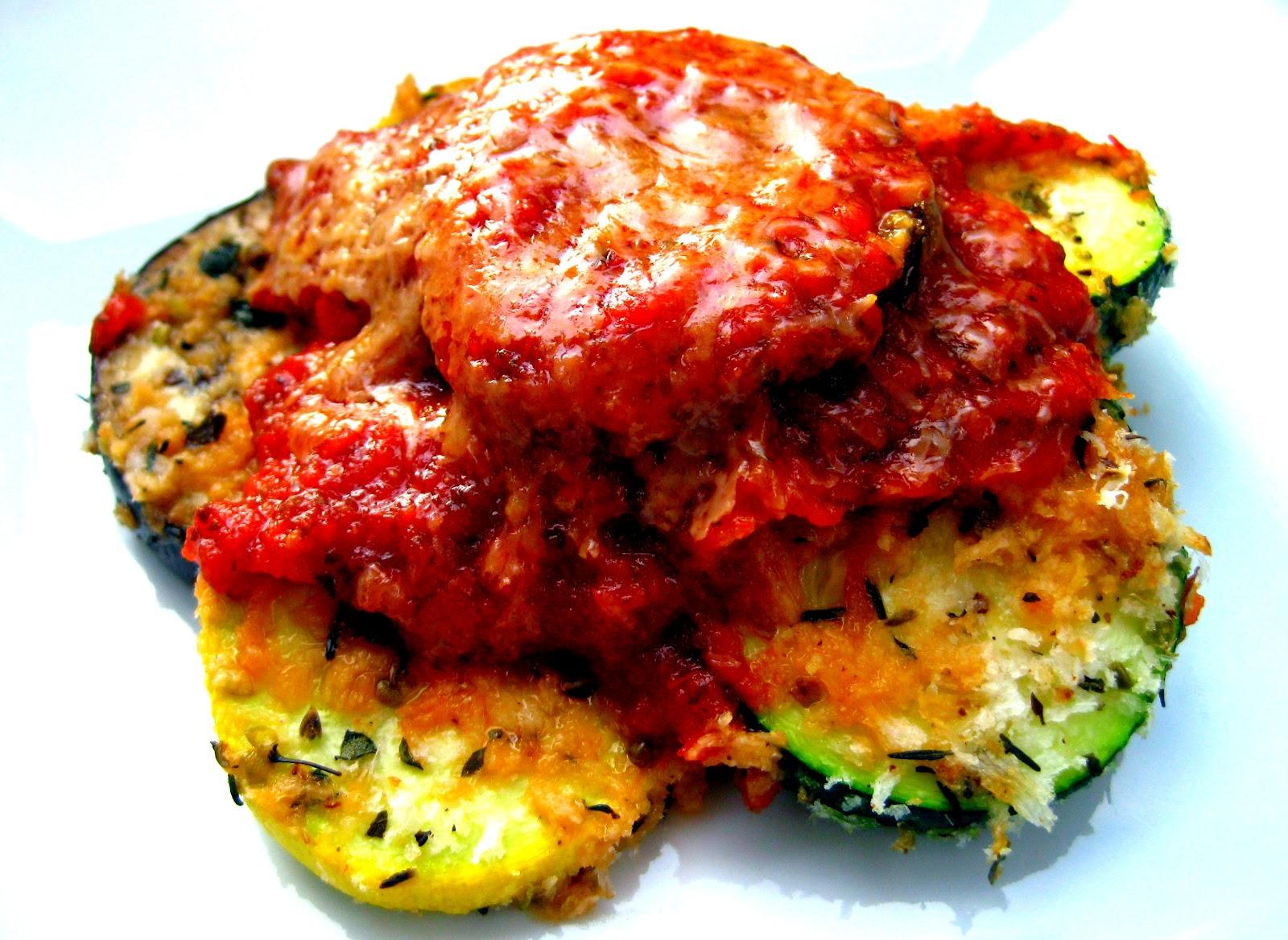 Karis' Kitchen | A Vegetarian Food Blog: Baked Zucchini ...