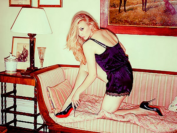 Natalie Dormer in lingerie for Esquire Oct 2013