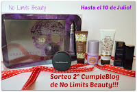 "Sorteo en el blog ""No Limits Beauty"""