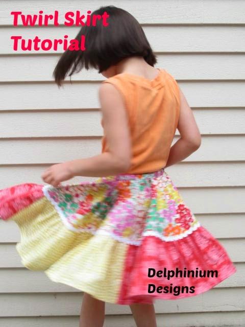 free twirly skirt pattern