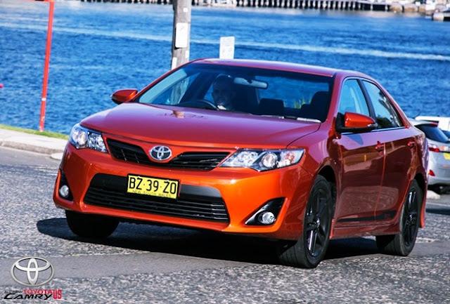 2015 Toyota Camry RZ Review Australia