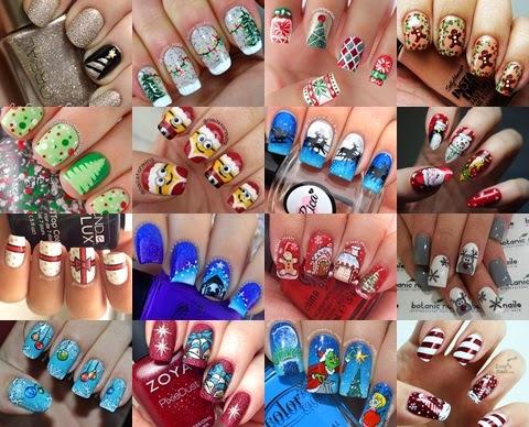 Inspiracje paznokciowe na święta Bożego Narodzenia