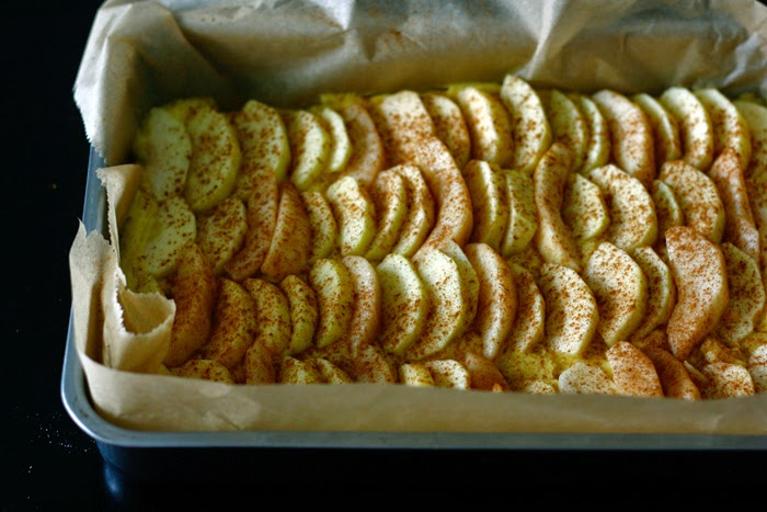Apfel-Birnen-Streuselkuchen
