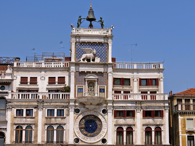 Venice zodiac clock